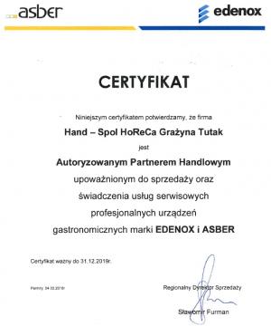 certyfikat-edenox