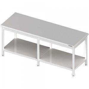 stół centralny z półką