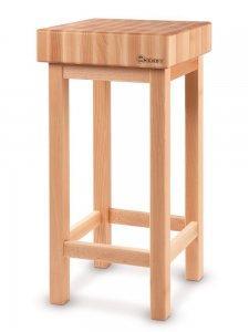 kloc drewniacy na podstawie drewnianej