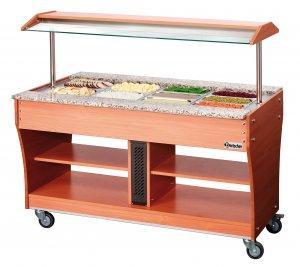 stół chłodniczy sałatkowy jezdny 2