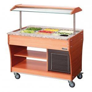 stół chłodniczy sałatkowy jezdny 1